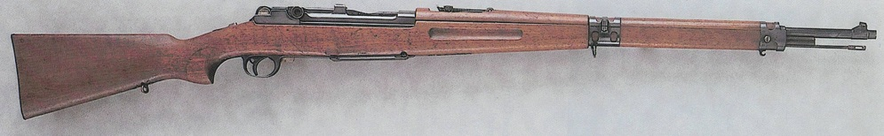 Luger 1906 semiauto rifle in 8x57mm