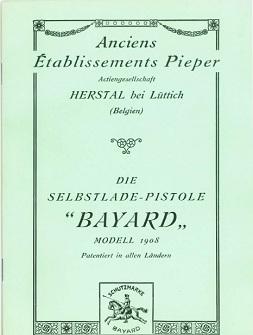 Bergmann Bayard 1908 manual