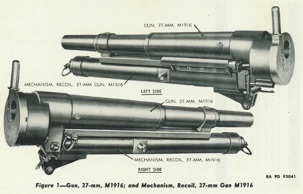 M1917 37mm gun