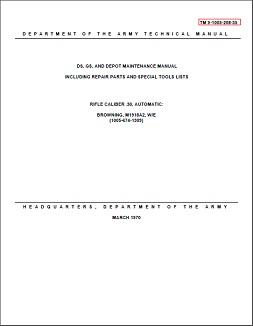 M1918A2 Depot Maintenance Manual