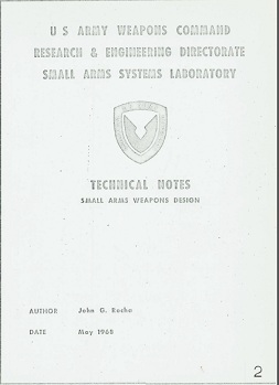 Technical Notes on Small Arms Design (English,1968)