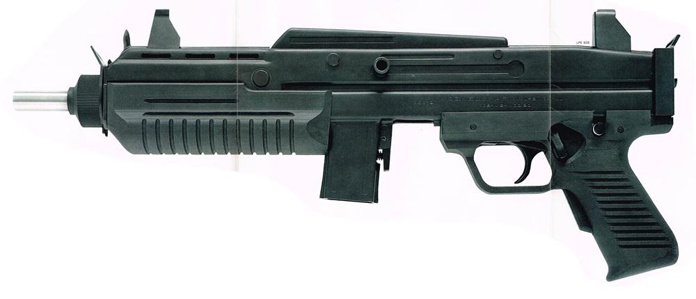 Benelli CB-M2 submachine gun
