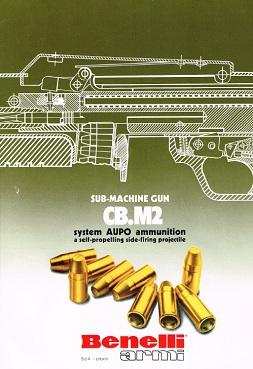 Benelli CB-M2 sales flyer (English)