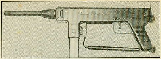 Early IMBEL 9mm conversion of an INA M953