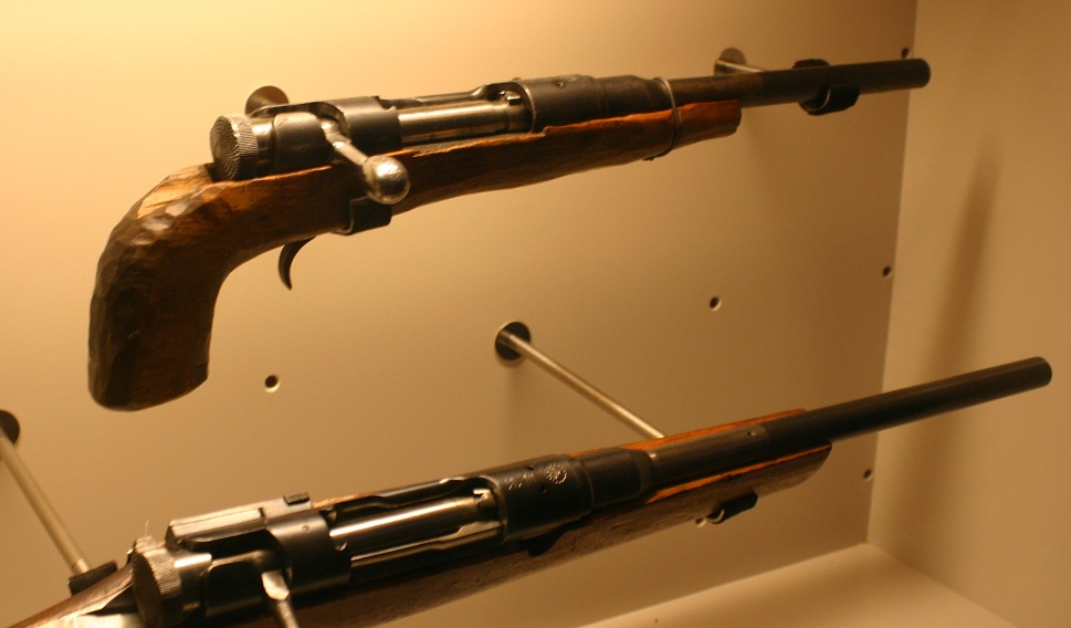 Two more Obrez made from Type 38 Arisaka rifles