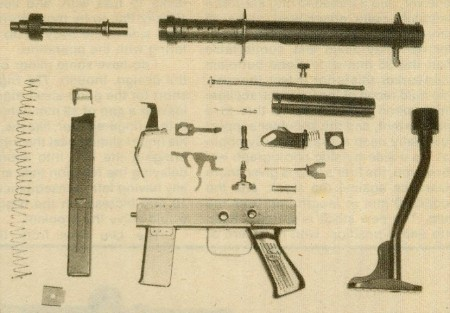 Uru SMG completely stripped