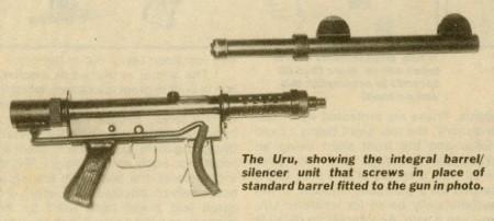 Uru silencer with integral sights