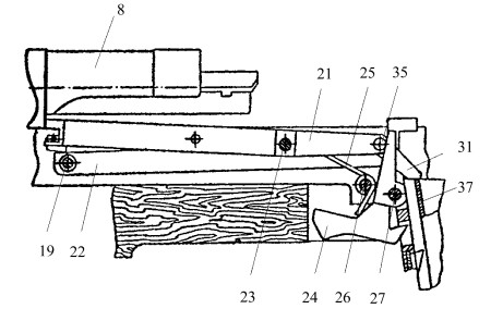 Polish wz.39 Mors bolt hold-open