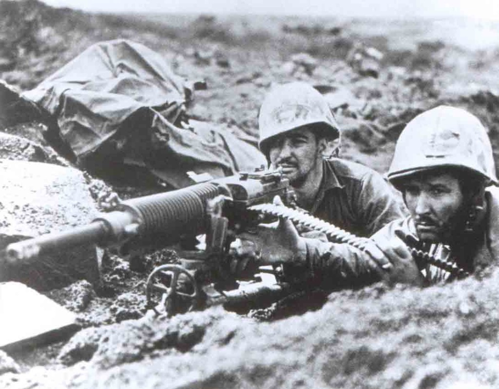 Japanese Type 92 machine gun