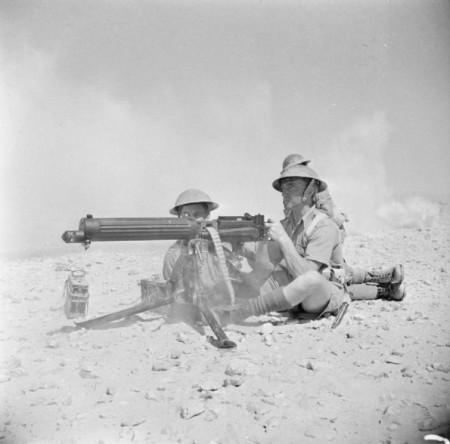 Vickers at El Alamein July 1942