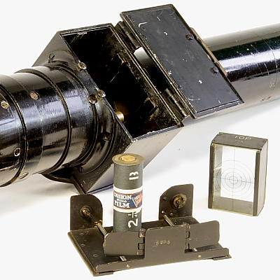 Hythe gun camera with film and film holder removed