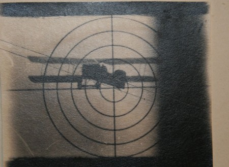 Photo from a Hythe MkIII gun camera