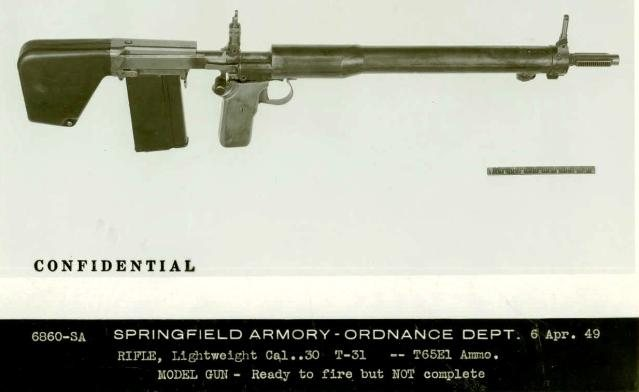 Military Surplus Auction >> Garand T31 experimental bullpup rifle (first model) – Forgotten Weapons