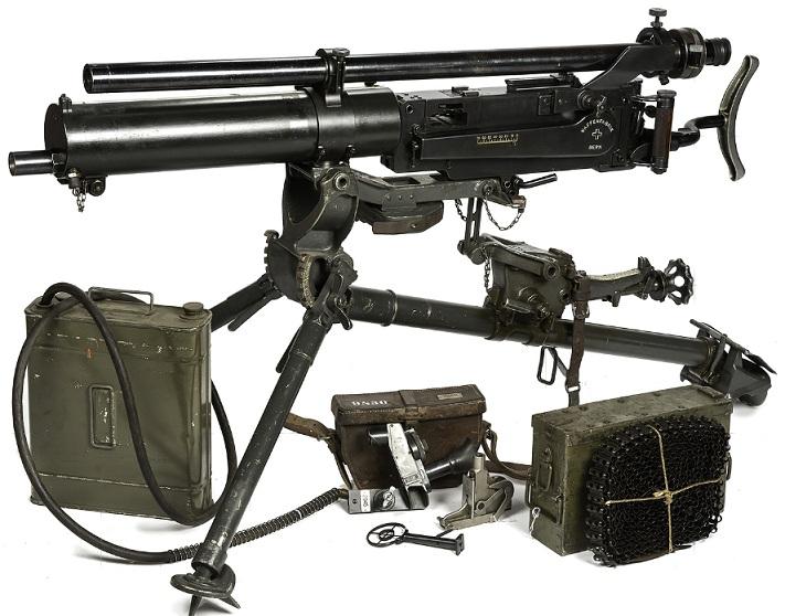 Swiss model 1911 Maxim gun