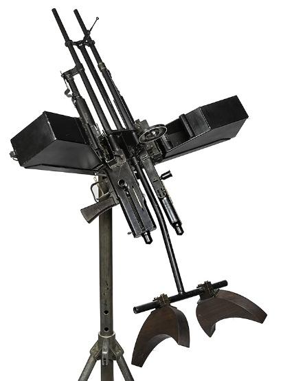 Twin Darne MG mount