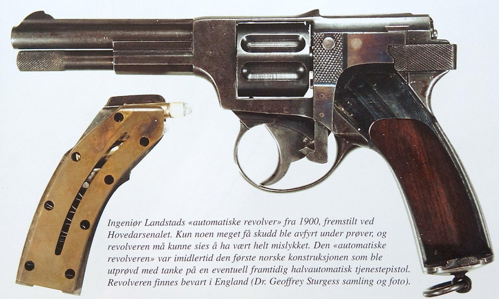 Landstad automatic revolver