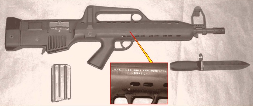 LAPA FA Modelo 03 markings