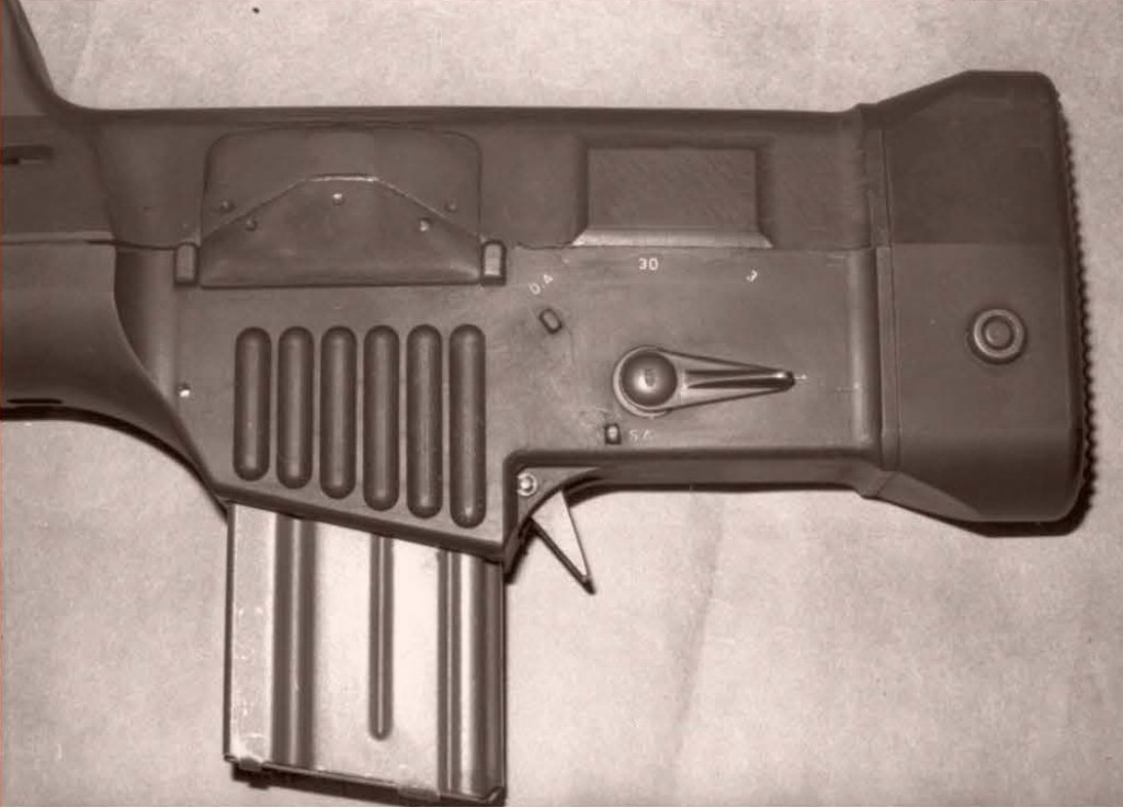 LAPA FA Modelo 03 selector lever