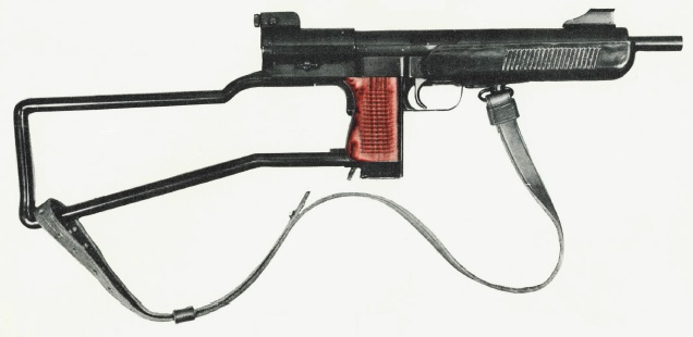 Pistola Ametralladora Mendoza Hm3