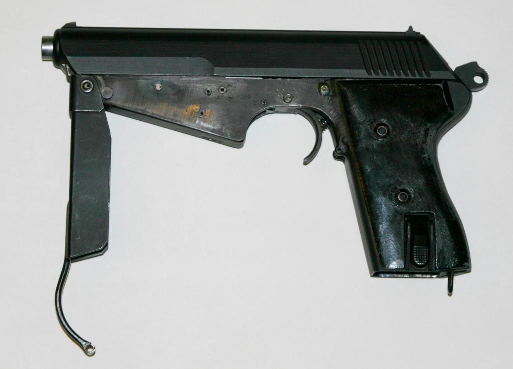 Full auto conversion of vz.52 pistol (Henk Visser collection)
