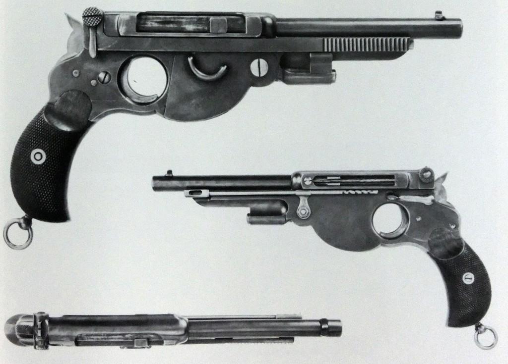 Bergmann No.1 1894 made for Swiss trials in 7.5mm