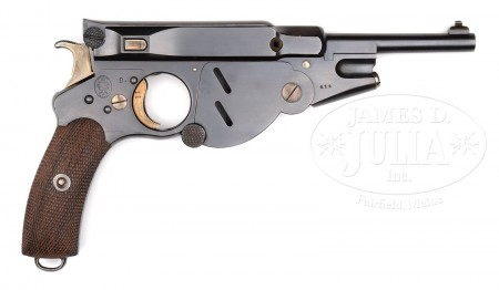 Bergmann No.3 pistol