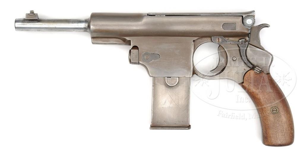 Prototype Bergmann No.5 pistol