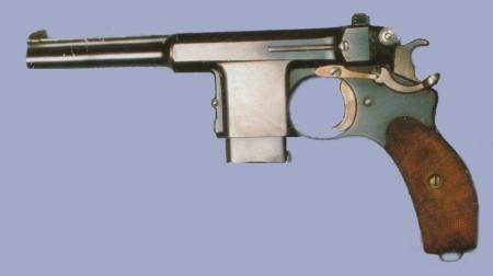 Bergmann 1899 pistol