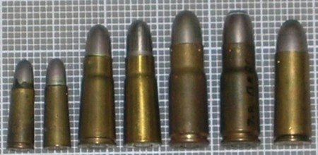 Bergmann pistol cartridges
