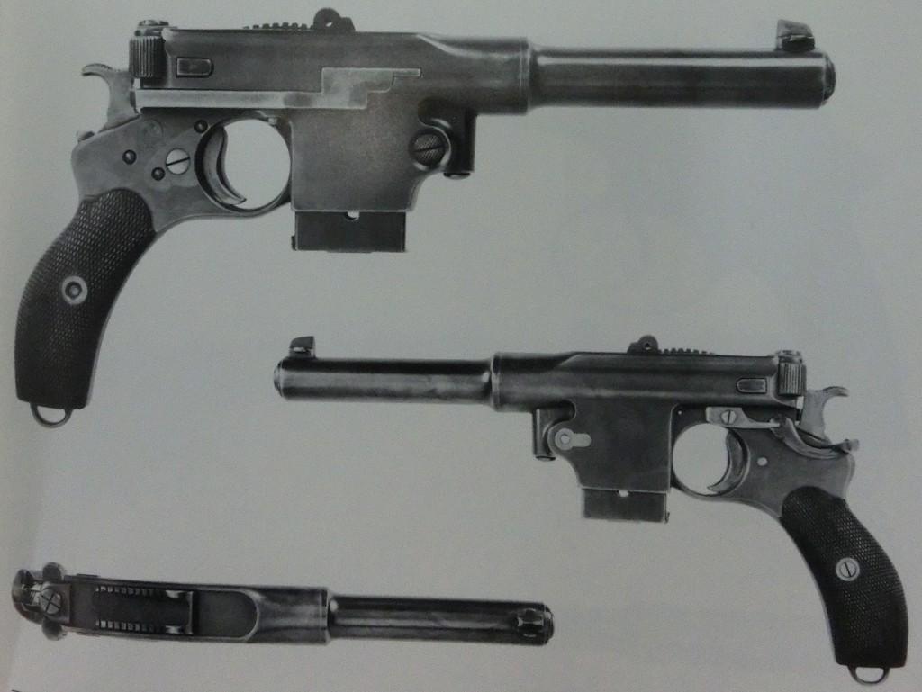 Swiss trial Bergmann 1897 pistol