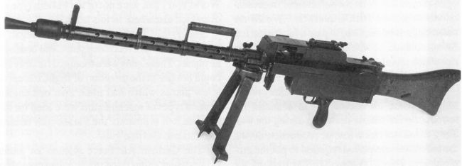 German MG08/18 machine gun