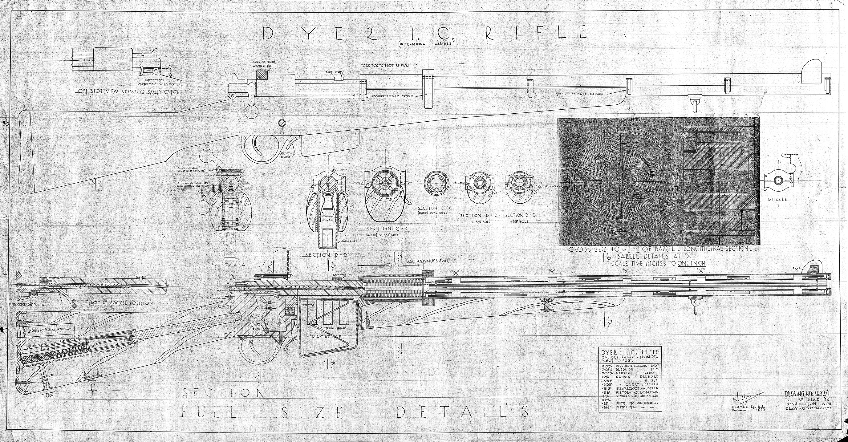 Dyer Multi-Caliber Rifle – Forgotten Weapons