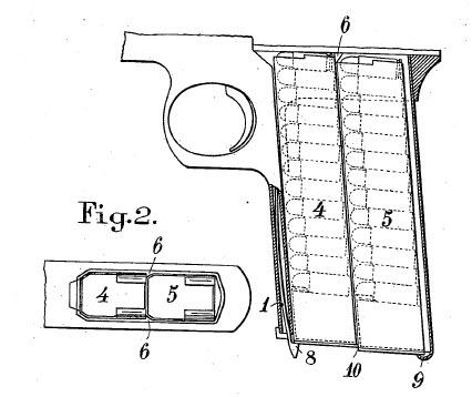 Sunngard pistol patent drawing