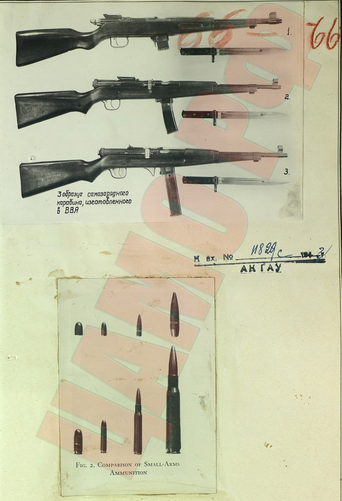 Prototype Mayn 7.62x25mm carbines