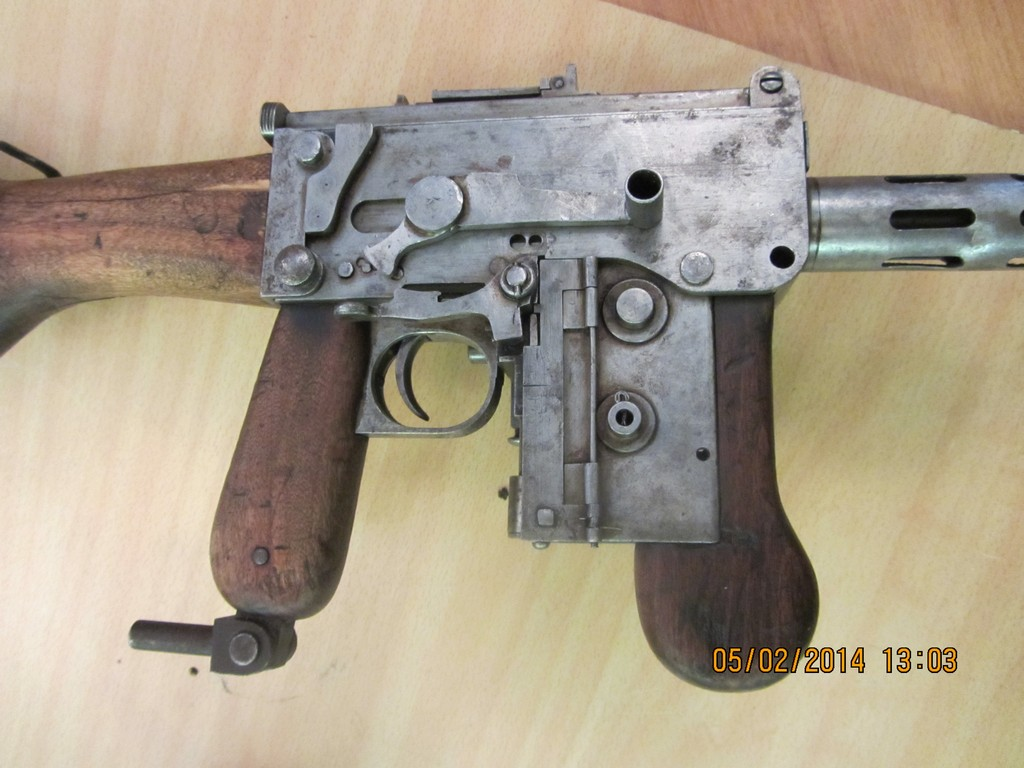 Experimental German 08 18 Maxim Smg Forgotten Weapons