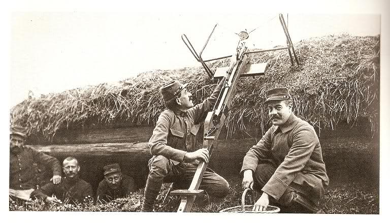 French WWI grenade-throwing crossbow