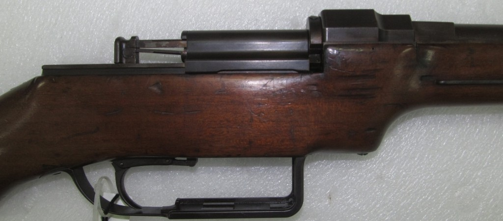 Fosbery 1891 Slide Action, right side