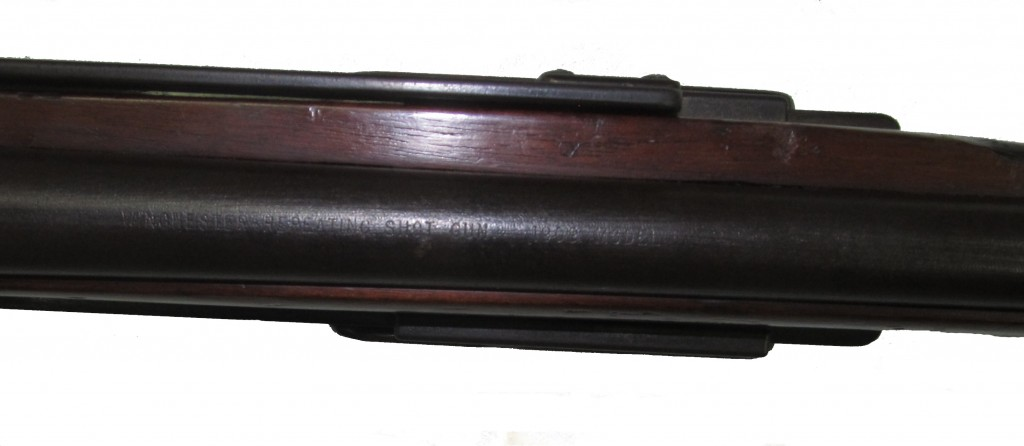 Markings on the replacement barrel