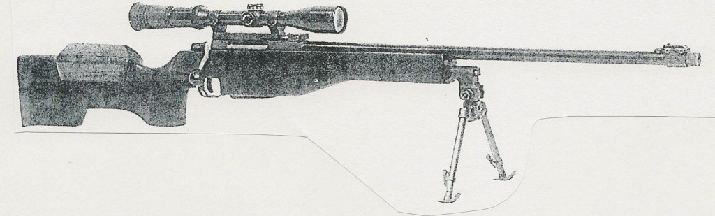 Swedish Lano sniper rifle