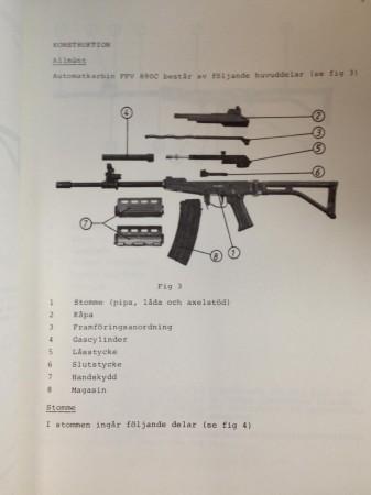FFV-890 disassembled