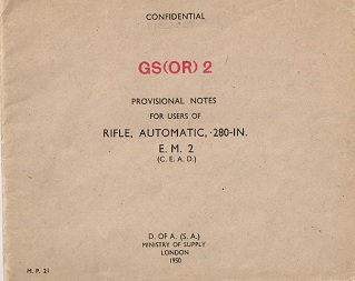 EM2 Provisional Notes (English, 1950 - missing pages)