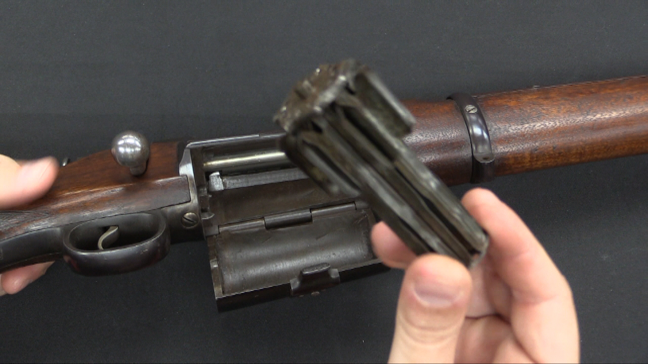 Information about forgottenweapons com forgotten weapons - Blake Bolt Action Rifle At Ria