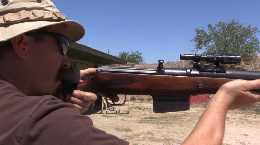 Shooting a G41(W) with ZF-41 scope