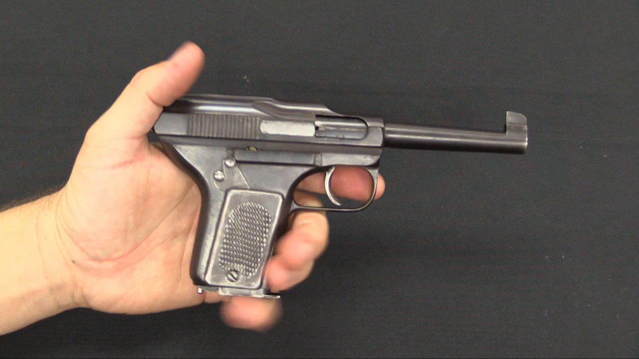 Schouboe 32acp Pistol At Ria Forgotten Weapons