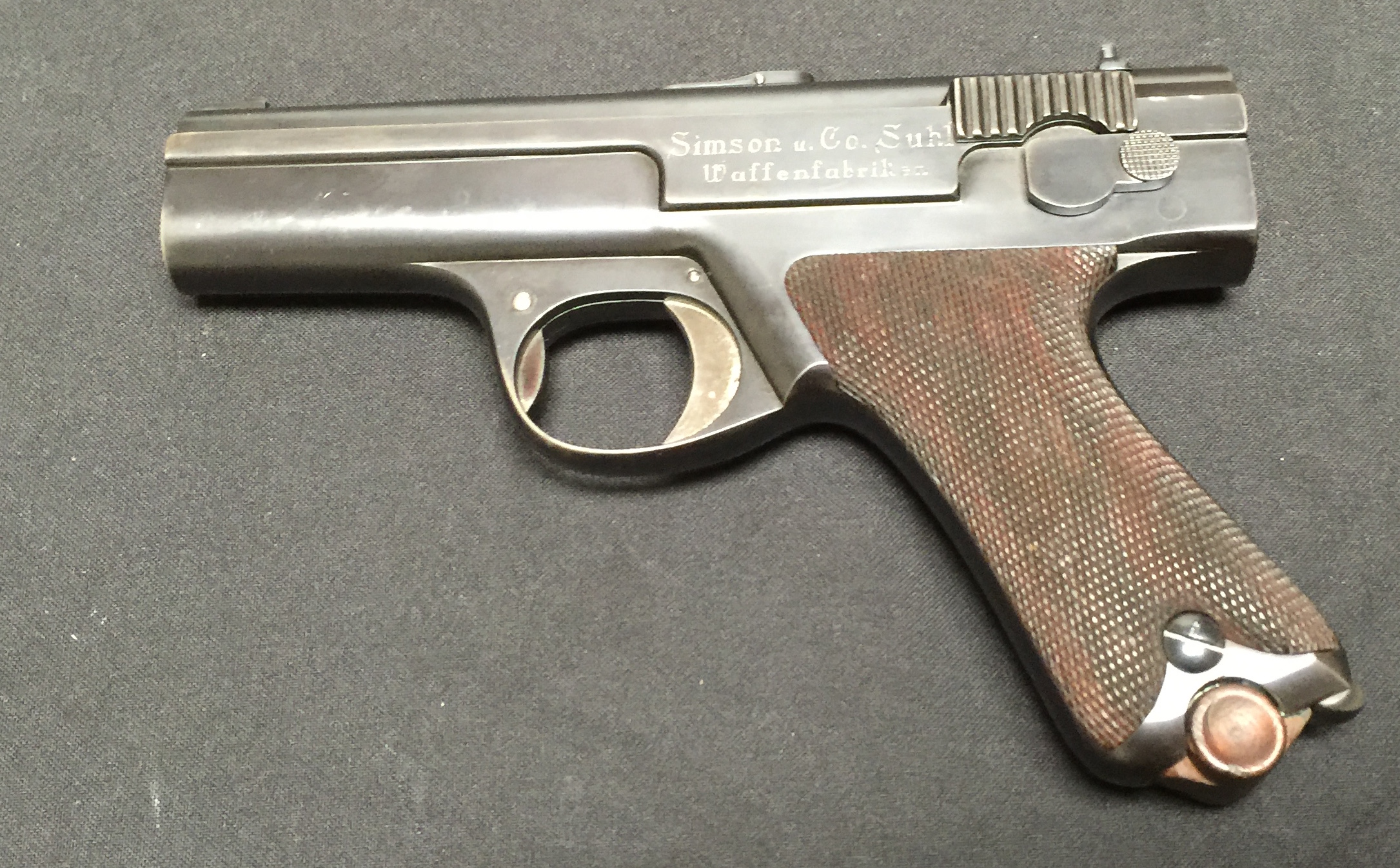 how to fix german makarov pistol hammer