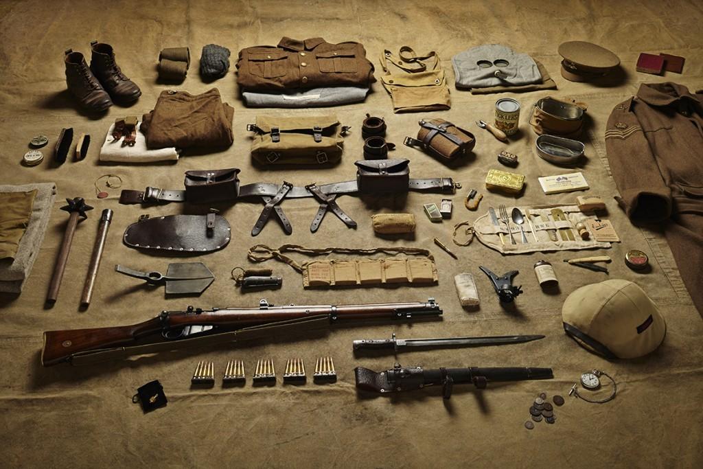 British Sergeant's equipment, 1916