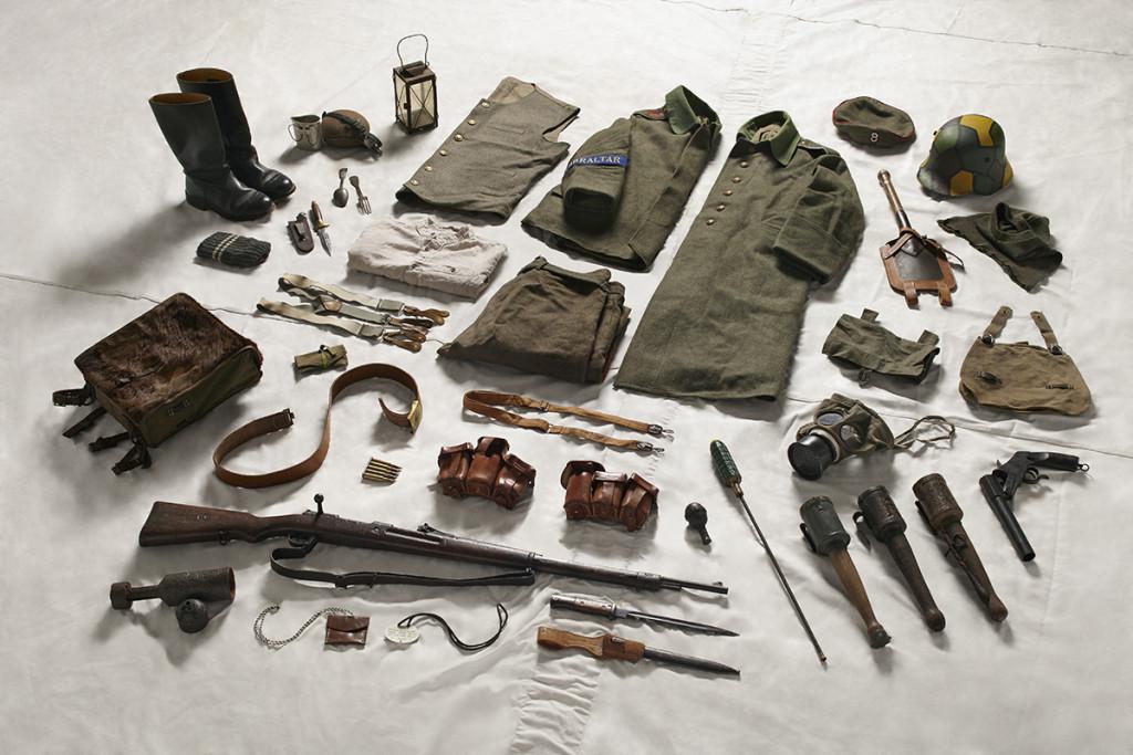 German Private's gear, 1916