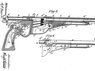 Carl Ehbets gas operated Bergmann patent