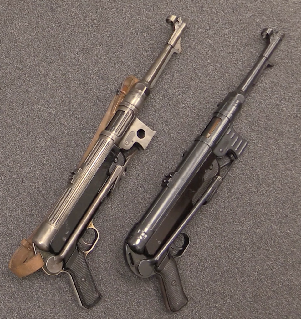 the german wwii standby the mp38 and mp40 smgs