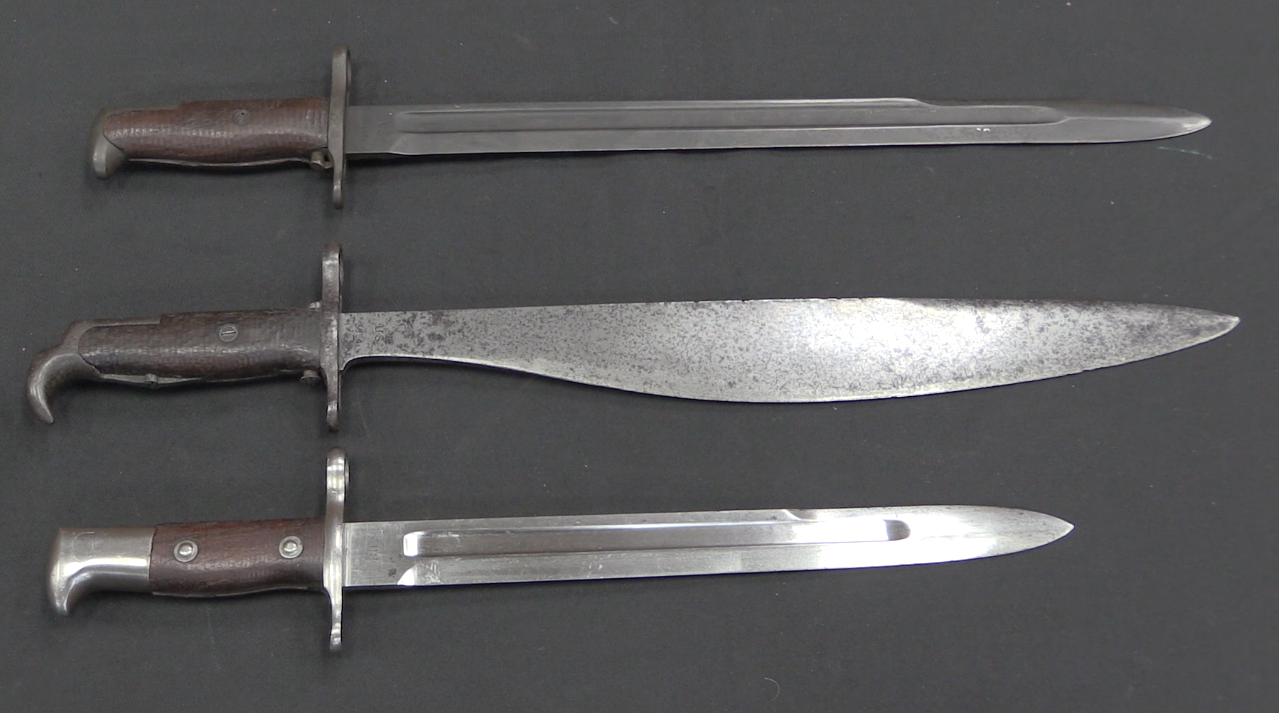 Us M1915 Bolo Bayonet Dual Purpose Gear That Worked